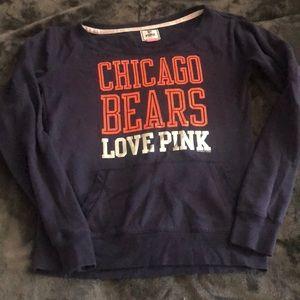 Victoria's Secret pink Chicago Bears crewneck